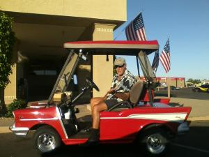 Chevy Golf Cart